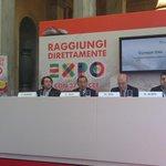 """Giuseppe Sala: """"Almeno il 30% dei visitatori arriverà a #Expo2015 in treno"""" #FS4Expo2015 http://t.co/sajsKROnfU"""