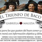 Sintonizá las 9.30 la 100.3 Radio Mitre Mendoza #ElTriunfodeBaco hablamos de #vino #vendimia #tendencias cc @abeliky http://t.co/9TkdZ2ySPb