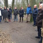 Raadsleden krijgen een rondleiding in wandelbos Groenendaal #Heemstede in voorbereiding op commissie Ruimte van 12/3 http://t.co/0y6V3pCOMy