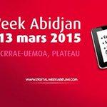 Digital Week Abidjan (#DWA15): + 100 speakers from +20 countries  http://t.co/PfAIO5ckPg #techcampwa http://t.co/YHdxsQGjLm