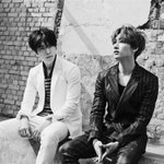 """Super Junior Donghae & Eunhyuk are back with """"Growing Pains"""" on Music Bank! http://t.co/B2xEWh4btf http://t.co/7iTfgig6ZT"""