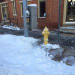 A BIG THANK YOU to all that have cleared fire hydrants. http://t.co/oC09YV45hW