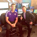 Happy to welcome @OrlandoCitySC player @tallyhallGK to help @JaymeKingFox35 do the weather at 9 on #GDO! #Fox35 http://t.co/s4uo6uB3rI
