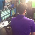 .@tallyhallGK is in the @MyFoxOrlando studios this morning, getting ready to make his weatherman debut. Tune in now! http://t.co/1FccEooEtA