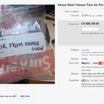 Air from a Kanye West show is selling for $60,000 on eBay http://t.co/MmXdFMeFI4 http://t.co/jCrBOMQ21s