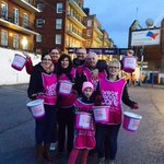 #BucketBrigade in action tonight for @BCCare at @cardiff_blues v @connachtrugby Spare change making a big didference! http://t.co/ullAc2msfn