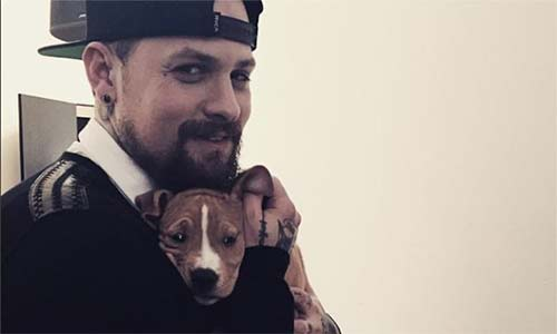 Benji Madden sent the sweetest message to wife Cameron Diaz while working in