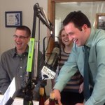 @KellieMeyerWENY @CraigWx4cast and Ross join @LeeWHCU to support @WHCURadio #wineanddine! Thank you!! http://t.co/QClM2PElEA