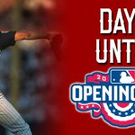 And the countdown continues... #OpeningDay http://t.co/5XclZ1TKSZ