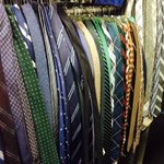 Happy Glee Day! This is about half of Mr. Schuesters tie collection! 👔 http://t.co/29ogXnLUW4
