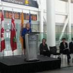Today Mayor @BonnieCrombie launched the Mississauga International Partnership Program @TorontoPearson @MississaugaEDO http://t.co/YRHwyD0rfI