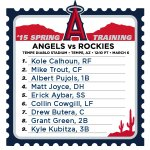 Here is today's #LAASpring lineup: http://t.co/lBpF8F9b1n