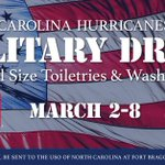 Bring #Canes Military Drive donations with you to the game tonight to benefit @USOofNC: http://t.co/lGEkCoxi2S http://t.co/5xWUy7rJTv