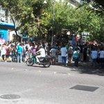 #Ahora Protesta de estudiantes en Peatonal Sarmiento #Mendoza . Foto vía @Meli_Cangialosi http://t.co/wtgEVpazPP