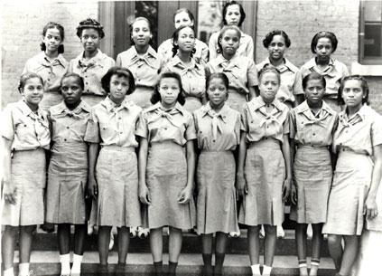 #FlashbackFriday to a historic day in our Movement. The first Black Girl Scout Troop. #BlackoutDay http://t.co/CxaA1eL1BK