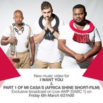 Now playing on @liveamp #iwantyou video ......wahoo http://t.co/sucvufNIhS