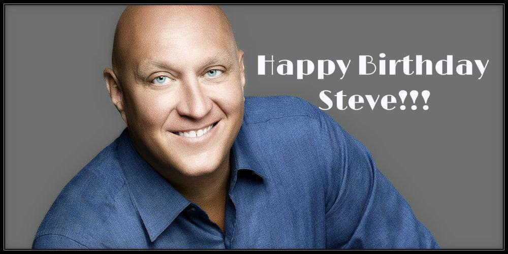 Guess what today is? It's Steve's birthday!!! RT and wish him a #HappyBirthday! #SteveWilkos #HappyBirthdaySteve http://t.co/VJ5E80a3fy