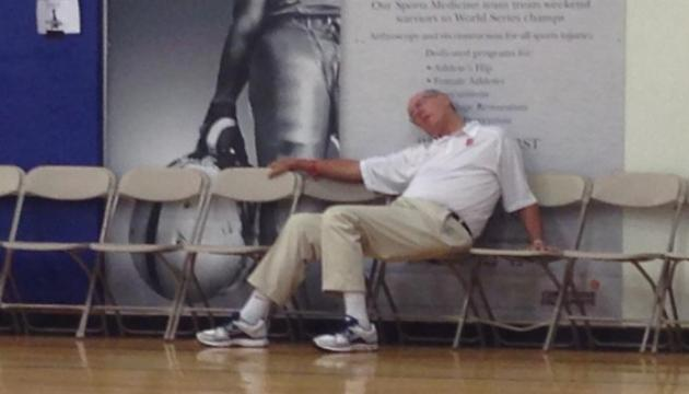 The NCAA essentially said this was Jim Boeheim when it came to compliance: http://t.co/1G2G5YUvJm