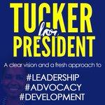 Have you heard the news? Davianne Tucker is running for Guild President! #TUCKERforPresident http://t.co/TvvZ2OWAW6
