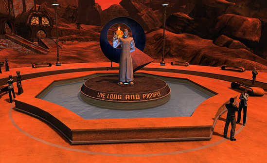 Star Trek Online has now unveiled their in-game memorial to Leonard Nimoy http://t.co/2pk7LiG94U http://t.co/6z21GCdyzQ