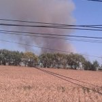 Incendio en quilmo en bosque con propagacion a galpon militar municiones explotando @AhNoticiasMega @biobio RT!!!!!! http://t.co/kbpHdAPydC