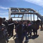 School children on a living history lesson #Selma50 http://t.co/GJWQZK5Ift