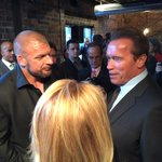 RT @TripleH: Got a chance to catch up with @Schwarzenegger tonight at the #OhioAllStars event. #ASF2015 #LikeNoOther http://t.co/5M5TaWqVil