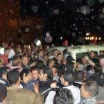 من امام المستشفى العام ب #المحلة وتجمهر الشباب والاهالى للتبرع بالدم #قنبلة_شكرى_القوتلى http://t.co/jOL6kvsZ6e