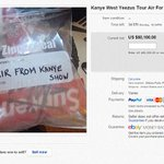 "WOW he can sell anything! Lol RT ""@Femail: $65,000 for a bag of air from a Kanye West concert http://t.co/YnZapfk3id http://t.co/tMfw16rCXP"""