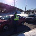 RT @CBCcameraman: Police directing traffic around 18wheeler hung up on Joe Howe and 102 http://t.co/fw8kNtTnpg