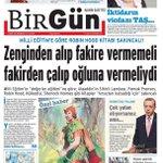 Hepimiz Robin Hooduz. Elden ele yayalım.. @BirGun_Gazetesi http://t.co/0J0mC0ikRa