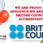 Extremely proud to confirm that we are now accredited by the @BritishCouncil . #Cardiff #CAPITAL #LearnEnglish #IELTS http://t.co/SdjjsiAcL7
