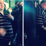"""#DancingMan mocked for dance moves now set for """"party of a lifetime"""" after online campaign http://t.co/pRrcp8H5xm http://t.co/9K1Iju2Awj"""