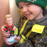 Cash is excited to have his mini @NikolajEhlers24 . Did you get yours #moosecountry? @HFXMooseheads @HalifaxHerdcast http://t.co/limwQ36k8O