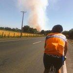 Camino a Pinto sector Boyen avanza el fuego hacia el Nor-Oriente @infobiobio http://t.co/jGb8pLCxGI