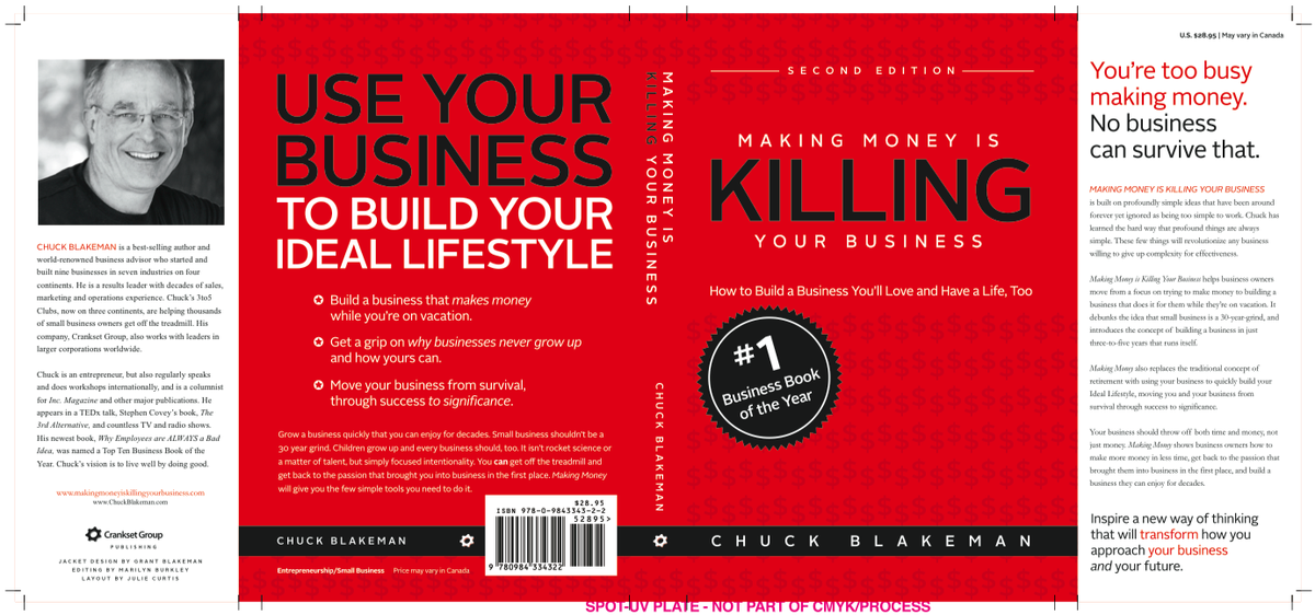 Teaser - possible cover for 2nd Edition of Making Money Is Killing Your Business... stay tuned. http://t.co/6qvnHXLJV1