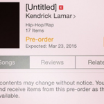 .@kendricklamar has Instagram going crazy with his new album news: http://t.co/F9tbkB4ulM http://t.co/2e5aqtHLlT