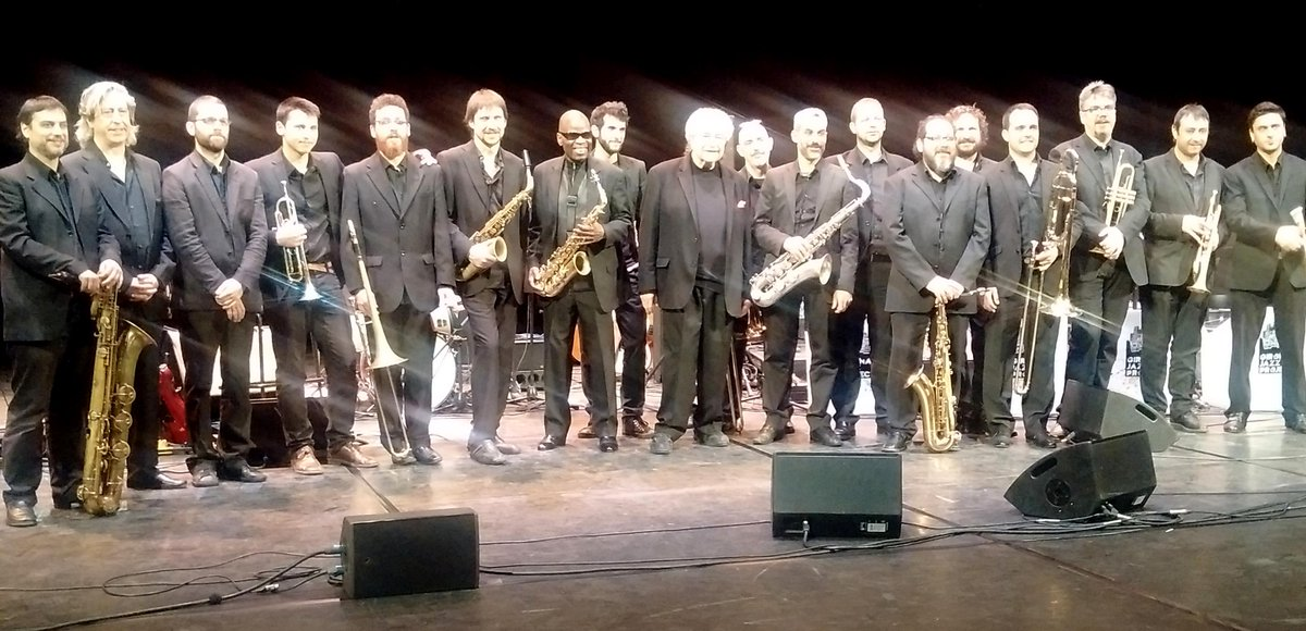 Thank you @blackmusicfest Michael Abene, Girona Jazz Project and all of you out there for a wonderful evening http://t.co/ncGFPCQhGb