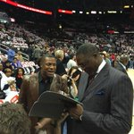 .@DWilkins21 signing @realctuckers game program. #TrueLegend http://t.co/KnMGHmDN7X