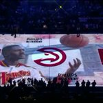 VIDEO: @ATLHawks honored Dominique Wilkins with a sick tribute before the game. http://t.co/oABM2karBq http://t.co/RUwrs66Nkh