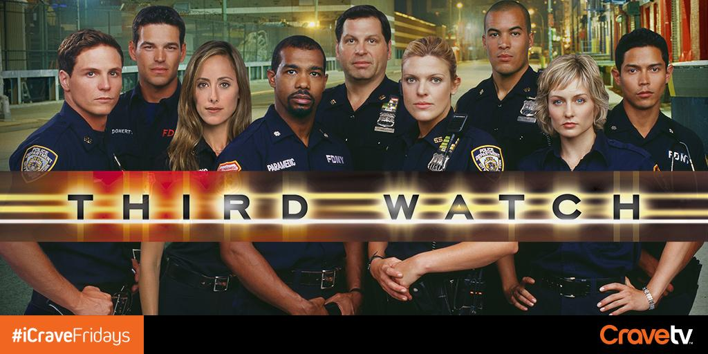 Police officers. Firefighters. Paramedics. They're all on the call. #ThirdWatch is now on CraveTV. #iCraveFridays http://t.co/THDce5qFW7