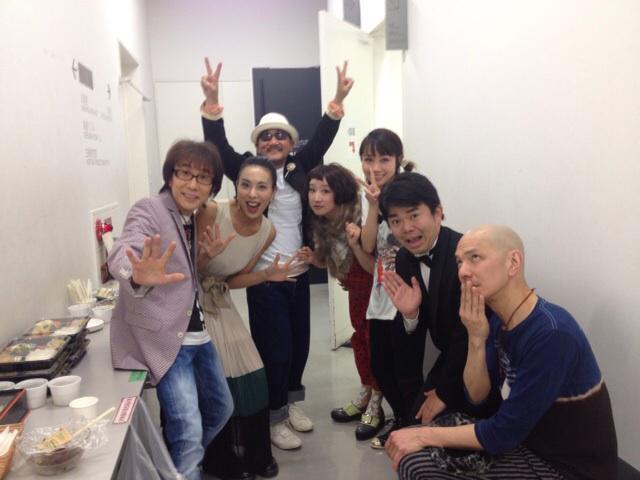 LOVEの今日ここ大阪にいるという事、サンケイホールブリーゼ終了!!坂崎幸之助さん、Chageさん、矢井田瞳さん、たむらぱんさん、石原正一さん、Steve Etoさん、お越し頂いた皆さん、本当に、本当に、ありがとうございました!! http://t.co/cnVhoZcLK3