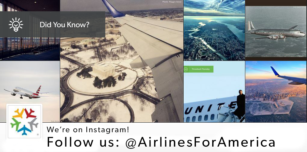 Love plane pictures? Follow us on Instagram and get your aviation fill: