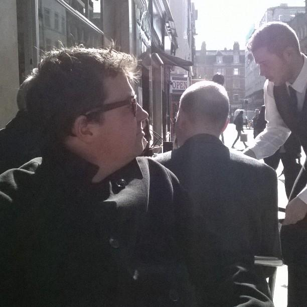 Salute to the sun. Morning, Bar Italia #Soho #London http://t.co/Fi5CgawVvp http://t.co/uq3nuei6ZB