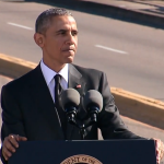 RT @voxdotcom: Read the full transcript of Obama's rousing, emotional speech in Selma: http://t.co/a8EeowT85a http://t.co/APiu6m4mV1