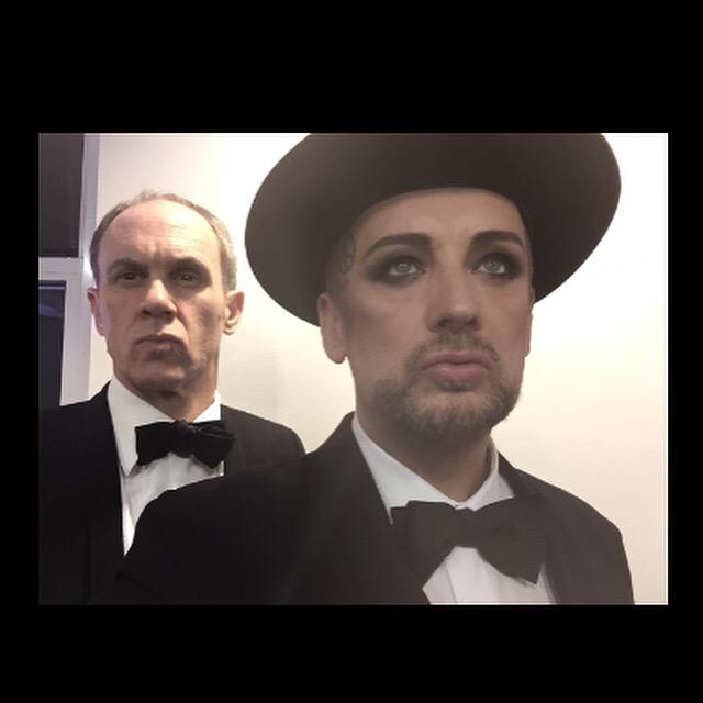 Not the pet shops boys actually  @BoyGeorge http://t.co/PNLnWiEfhD
