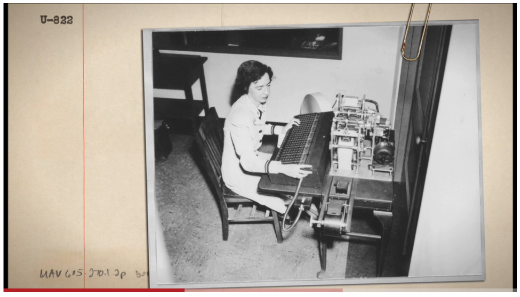 #womensday Awesome film about Grace Hopper, Queen of Code http://t.co/lLUf28XqEo http://t.co/YcJpdxIxQM