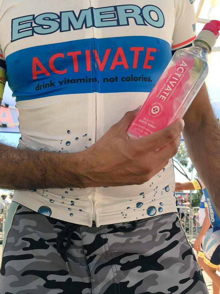 The winning formula! @ESMEROcycling @ActivateDemacon @ACTIVATEdrinkSA #CapeTownCycleTour #ArgusCycleTour #cycletour http://t.co/ExKJIvqnRg