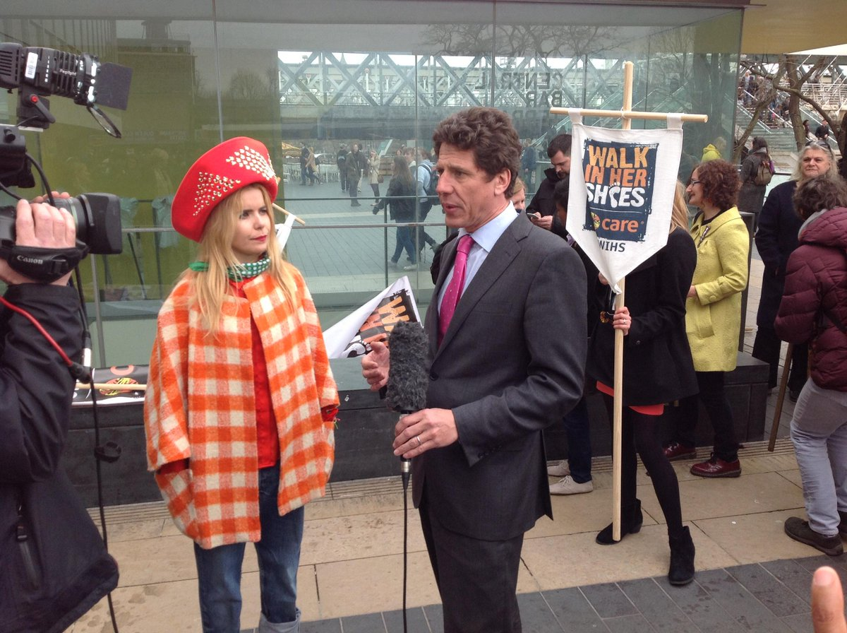 """.@Palomafaith to BBC: """"it's important that men play their part because women's rights are human rights"""" #WIHS #IWD http://t.co/CGEeyzT5ya"""