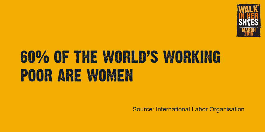 Why are we walking in solidarity with women worldwide today? The facts speak for themselves #IWD #WIHS http://t.co/s89lSW9fzo